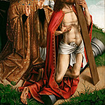 Part 5 Louvre - Colijn de Coter -- Christ Interceding for Phlippe le Beau