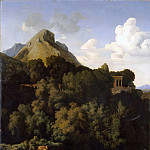 Part 5 Louvre - Jean-Paul Flandrin -- Sabine Mountains (Farewell of a conscript to his family)