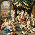 Part 5 Louvre - Hendrik de Clerck -- The Story of Psyche