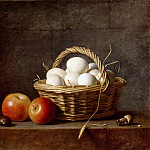 Part 5 Louvre - Henri Horace Roland de la Porte -- Basket of eggs