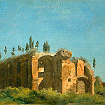 Part 5 Louvre - Pierre Henri de Valenciennes -- At the Villa Farnese: The Ruins
