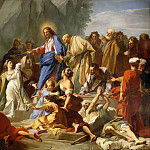 Jean-Baptiste Jouvenet -- Resurrection of Lazarus, Part 5 Louvre
