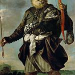 Part 5 Louvre - Pier Francesco Mola -- Oriental Warrior (Barbary Pirate)