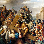 Part 5 Louvre - Etienne Barthélemy Garnier -- Christ on the Way to Calvary Falls under the Weight of the Cross