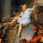Part 5 Louvre - Charles Le Brun -- Entry of Alexander in Babylon (Triumph of Alexander); detail