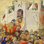 Simone Martini -- Orsini Polyptych: Road to Calvary, Part 5 Louvre
