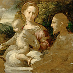 Part 5 Louvre - Parmigianino -- Mystic Marriage of Saint Catherine