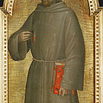 Part 5 Louvre - Giovanni da Milano -- Saint Francis of Assisi