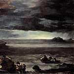 Scene from the Flood, Jean Louis Andre Theodore Gericault