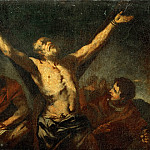 Part 5 Louvre - Luca Giordano -- The Martyrdom of Saint Andrew