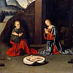 Part 5 Louvre - Ortolano -- Adoration of the Infant Jesus