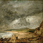 Part 5 Louvre - John Constable -- The Bay of Weymouth before a Thunderstorm