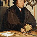 Nicholas Kratzer (1487-1550), astronomer to King Henry VIII of England, Hans The Younger Holbein