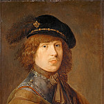 Part 5 Louvre - Pieter de Potter (c. 1597-1652) -- Self-Portrait in a Cuirass