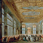 Part 5 Louvre - Francesco Guardi -- The Doge of Venice Giving a Banquet for the Ambassadors