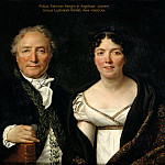 Jacques-Louis David -- Mr. and Mrs. Antoine Mongez, Part 5 Louvre
