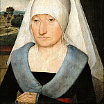 Part 5 Louvre - Hans Memling -- Portrait of an Elderly Woman