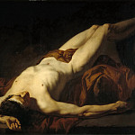 Part 5 Louvre - Studio of Jacques-Louis David -- Academic study, called 'Hector'