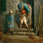 Part 5 Louvre - Jean-François Millet -- Motherly Precaution