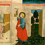 Part 5 Louvre - Giovanni Francesco da Rimini (c. 1420-1470) -- The Charity of Saint Nicholas of Bari