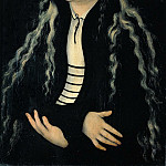 Part 5 Louvre - Lucas Cranach the elder -- Magdalena Luther (?), Daughter of Martin Luther