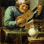 Part 5 Louvre - David Teniers II -- The Guitar Player