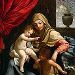Part 5 Louvre - Guido Reni (1575-1642) -- The Virgin with the Christ Child and Saint John the Baptist