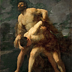 Part 5 Louvre - Guido Reni (1575-1642) -- Hercules Wrestling with the River God Achelous