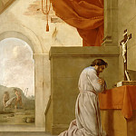 Part 5 Louvre - Eustache Le Sueur -- Life of St. Bruno: St. Bruno in prayer