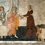 Part 5 Louvre - Sandro Botticelli (1444 or 1445-1510) -- Venus and the Graces Offer Presents to a Young Girl