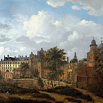 Gerrit Berckheyde - View of the Hague, Mauritshuis