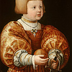 Mauritshuis - Jacob Seisenegger - Portrait of Maximilian of Austria (1527-1576), Aged Three