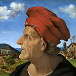 Piero di Cosimo - Posthumous Portrait of Francesco Giamberti , Father of Giuliano da Sangallo, Mauritshuis