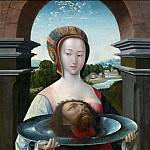 Mauritshuis - Jacob Cornelisz van Oostsanen - Salome with the Head of John the Baptist