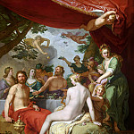 Abraham Bloemaert - The Feast of the Gods at the Wedding of Peleus and Thetis, Mauritshuis