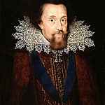 Mauritshuis - Anonymous (Northern Netherlands) - Portrait of James I (1566-1625), King of England