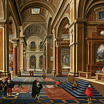 Bartholomeus van Bassen - Interior of a Catholic Church, Mauritshuis