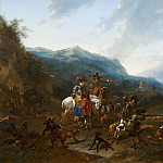 Wild Boar Hunt, Nicolaes (Claes Pietersz.) Berchem