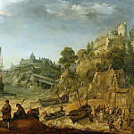 Adam Willaerts - Ships off a Rocky Coast, Mauritshuis