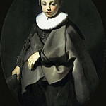 Portrait of a Boy in Grey, Jacob Adriaenszoon Backer