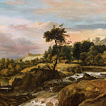 Mauritshuis - Roelant Roghman - Mountainous Landscape with Waterfall