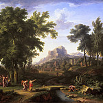 Arcadian Landscape with a Bust of Flora, Jan Van Huysum