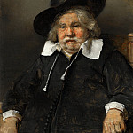 Rembrandt van Rijn - Portrait of an Elderly Man, Mauritshuis