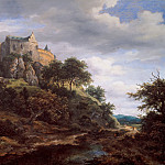Jacob van Ruisdael - View of Bentheim Castle, Mauritshuis
