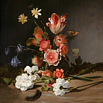 Dirck de Bray - Still Life with a Bouquet in the Making, Mauritshuis