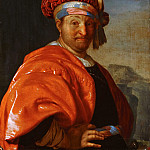 Frans van Mieris the Elder - Man in Oriental Dress, Mauritshuis