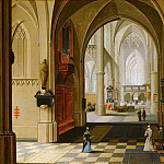 Mauritshuis - Peter Neeffs the Younger - Church Interior