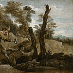 The Blind Leading the Blind, David II Teniers
