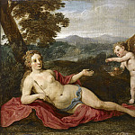 David Teniers the Younger - Venus and Cupid, Mauritshuis