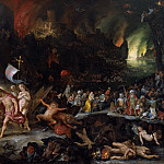Jan Brueghel the Elder, Hans Rottenhammer - Christ's Descent into Limbo, Mauritshuis
